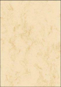 Sigel DP907 Papier à lettres, 14,8 x 21 cm, 90g/m², marbre beige clair, 100 feuilles de la marque Sigel image 0 produit