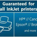 Sigel IF140 Lot de 10 films autocollants résistants aux intempéries, 21 x 29,7 cm, pour imprimantes jet d'encre, blanc de la marque Sigel image 4 produit