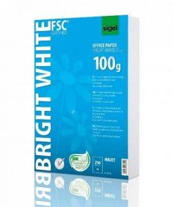 Sigel IP125 Papier d'imprimante jet d'encre, format A4 (21 x 29,7 cm), 250 feuilles de la marque Sigel image 0 produit