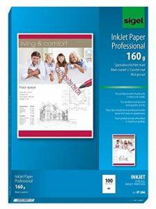Sigel IP286 Papier professionnel d'imprimante jet d'encre, format A4 (21 x 29,7 cm), 100 feuilles de la marque Sigel image 0 produit