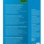 Sigel IP719 Papier photo Everyday jet d'encre, ultra brillant, format 10 x 15 cm, 200 g/m², 60 feuilles + 12 gratuites de la marque Sigel image 1 produit