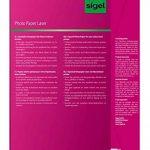 Sigel LP142 Papier photo laser/copieur, A4, 170 g, 100 feuilles de la marque Sigel image 1 produit