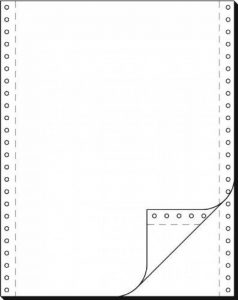 """SIGEL - papier listing sans fin, 240 x 12"""", A4, double 60/57 g/m2, AC, en blanc, PL Contenu: 1000 fe de la marque Sigel image 0 produit"""