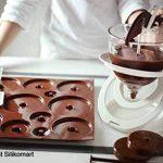 Silikomart 22.152.77.0065 C3D02 Moule pour Chocolat Forme Sapin Thème Pâques Silicone Marron de la marque Silikomart image 2 produit