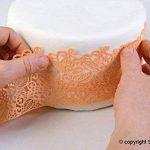 Silikomart 23.087.87.0096 TRD07 Tapis pour Dentelle Sucre Slim Baroc Blanc de la marque Silikomart image 3 produit