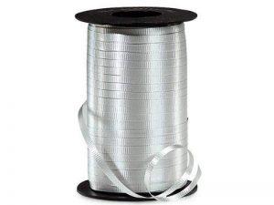 """SILVER Curling Ribbon3/8"""" x 250 yds 100% Polypropylene1/pack de la marque NAS image 0 produit"""