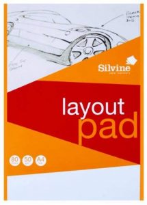 Silvine Bloc A4 (Import Royaume Uni) de la marque Silvine image 0 produit