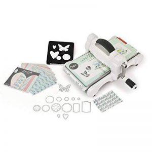 Sizzix 661545 Big Shot Kit de démarrage scrapbooking machine de découpe et gaufrage - 42 x 30 x 24 cm de la marque Artemio image 0 produit