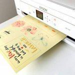 SKULLPAPER Film adhésif transparent pour décorer - 10 feuilles A4 pour imprimante jet d'encre de la marque Skullpaper image 1 produit