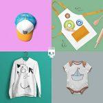 SKULLPAPER Papier Transfert Textile Tshirt / Textile Blancs ou Clairs / y compris 200 modèles de motifs / A4 / pour Inkjet Imprimante / 10 feuilles de la marque Skullpaper image 3 produit