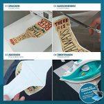 SKULLPAPER Papier Transfert Textile Tshirt / Textile Noirs ou Foncés / y compris 200 modèles de motifs / A4 / pour Inkjet Imprimante / 8 feuilles de la marque Skullpaper image 1 produit