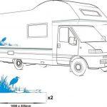 Smarts-Art Lot de camping-car en vinyle graphique Stickers autocollants de camping-car RV caravane Grue S de la marque Smarts-Art image 2 produit