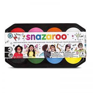 Snazaroo Maquillage - Palette De Maquillage Taille Jumbo - 8 Couleurs de la marque Snazaroo image 0 produit
