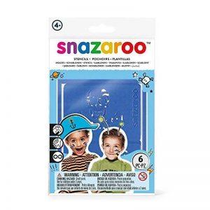 Snazaroo - Maquillage - Set de 6 Pochoirs de la marque Snazaroo image 0 produit