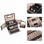 Songmics Boîte à bijoux coffre à bijoux avec 2tiroirs Miroir jbc121b de la marque SONGMICS image 3 produit