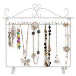 Songmics porte bijoux colliers, bracelets présentoir de boucles d'oreilles blanc JDS023W de la marque Songmics image 1 produit