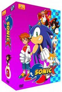 Sonic X - Partie 3 - Coffret 4 DVD - VF de la marque 2007 image 0 produit