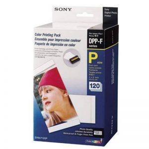 Sony Papier pour imprimantes 120 feuilles 10x15 + rouleau encreur FP30/FP50 SVMF120P.AE de la marque Sony image 0 produit