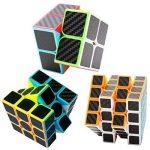 Speed Cube Ensemble Coolzon® Nouveau Cubo Autocollant de Carbone Fibre Ultra Rapide de la marque Coolzon image 2 produit