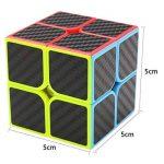 Speed Cube Ensemble Coolzon® Nouveau Cubo Autocollant de Carbone Fibre Ultra Rapide de la marque Coolzon image 3 produit