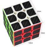 Speed Cube Ensemble Coolzon® Nouveau Cubo Autocollant de Carbone Fibre Ultra Rapide de la marque Coolzon image 4 produit