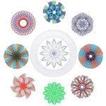 Spirograph Jeu de jouet de dessin en spirale pour adultes et enfants de la marque Sheny image 2 produit