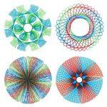 Spirograph Jeu de jouet de dessin en spirale pour adultes et enfants de la marque Sheny image 3 produit