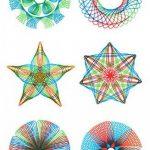 Spirograph Jeu de jouet de dessin en spirale pour adultes et enfants de la marque Sheny image 4 produit