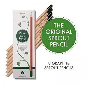 Sprout crayons à planter|boîte de 8 crayons graphite|en bois naturel bio sans plomb de la marque SPROUT® image 0 produit