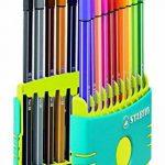 STABILO Pen 68 - Étui ColorParade turquoise de 20 feutres pointe moyenne - Coloris assortis de la marque STABILO image 1 produit