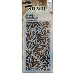 "Stampers Anonymous_AGW Tim Holtz Layered Stencil 4.125""X8.5""-Scribbles de la marque Stampers Anonymous_AGW image 0 produit"