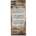 "Stampers Anonymous_AGW Tim Holtz Layered Stencil 4.125""X8.5""-Scribbles de la marque Stampers Anonymous_AGW image 2 produit"
