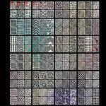 Stencil Ongles Nail Art Stickers Set Designs Cute Nail Art Ongles Stencil Feuilles,24 Feuilles 72 Différents Styles, 144 Pièces de la marque Mudder image 3 produit