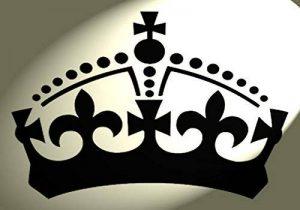 Style shabby chic Plastique Pochoir Motif de couronne de feuilles B A4297x 210mm meubles Français de la marque Solitarydesign image 0 produit