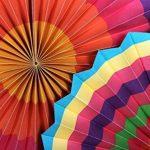 SUNBEAUTY Rosace Papier Déco Mariage Anniversaire Babyshower Baptême Noel Chambre Lot de 6 de la marque SUNBEAUTY image 4 produit
