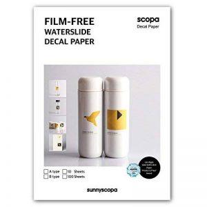 Sunnyscopa Film-free Laser en papier type A A410feuilles kit w/colle de la marque Sunnyscopa image 0 produit