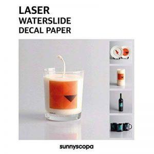 Sunnyscopa Laser Decal papier Standard A4 10 feuilles de la marque Sunnyscopa image 0 produit