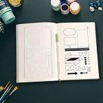 Surblue 20pcs Bullet Ensemble Pochoir Journal Planner Pochoir pour la création de cartes de Journalisation), scrapbooking, DIY et projets artistiques de la marque SURBLUE image 2 produit