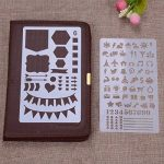 Surblue 20pcs Bullet Ensemble Pochoir Journal Planner Pochoir pour la création de cartes de Journalisation), scrapbooking, DIY et projets artistiques de la marque SURBLUE image 4 produit