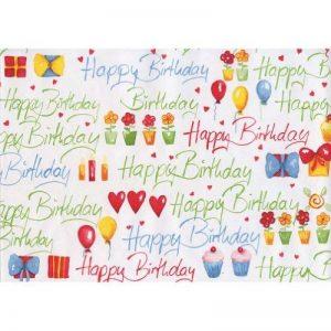 Susy Card 11136132 Rouleau de papier cadeau 10 m motif anniversaire (Multicolore) (Import Allemagne) de la marque Susy Card image 0 produit