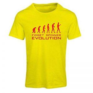 T-shirt femme L'évolution - Fidget spinner de la marque lepni.me image 0 produit