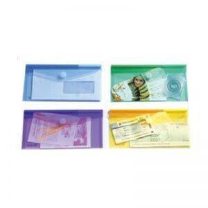 Tarifold Enveloppe chéquier en polypropylène gamme T Collection Transparent Sachet de 6 de la marque Tarifold image 0 produit