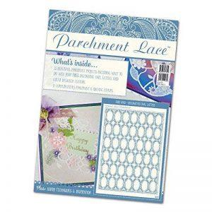 Tattered lace Parchemin Dentelle ovale Magazine, Multicolore de la marque Tattered lace image 0 produit