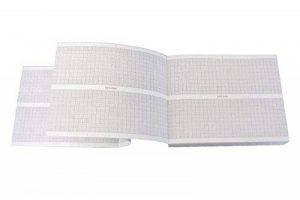 tecnocarta Paquet de Papier thermique pour eCG compatible avec hP/philips 9270–0545 de la marque image 0 produit