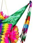 TexMex Fun Stuff Grande Décoration de Fête de Piñata Mexicaine en Carton Pliable Coloré Arc en Ciel de la marque TexMex Fun Stuff image 3 produit