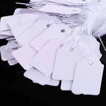 Étiquettes de Marquage Cadeau en Papier Étiquettes de Prix des Bijoux Strung Étiquette de Vêtements, 500 Pièces, 18 par 29 mm de la marque BBTO image 2 produit