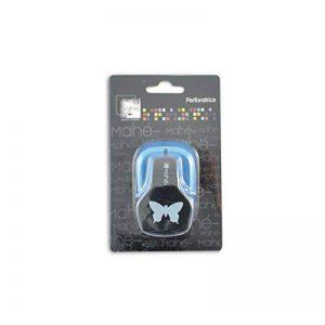 Toga OPXB10 Petite perforatrice Motif Papillon Plastique Noir 9 x 14,5 x 6 cm de la marque Toga image 0 produit