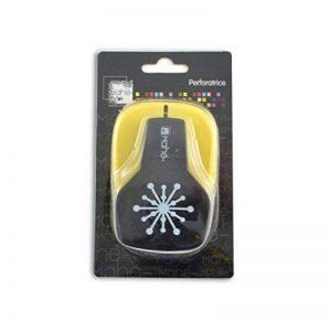 Toga OPXC05 Perforatrice Moyenne Motif Flocon Plastique Noir 9 x 14,5 x 7 cm de la marque Toga image 0 produit