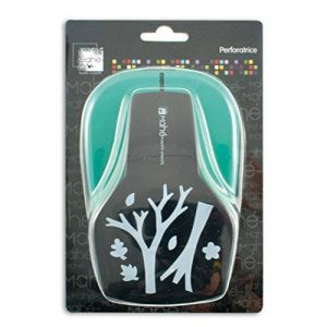 Toga OPXE09 Maxi perforatrice Motif Branches Plastique Noir 12,5 x 19 x 9 cm de la marque Toga image 0 produit