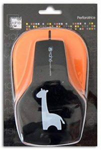Toga OPXE21 Maxi perforatrice Motif Girafe Plastique Noir 12,5 x 19 x 9 cm de la marque Toga image 0 produit